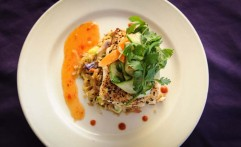 Sesame Crusted Grouper