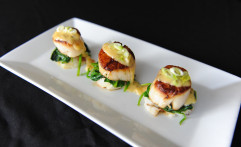 Scallop Appetizer